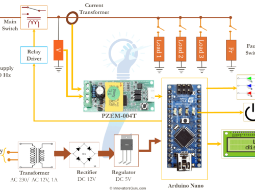 AC Digital Multi function Smart Meter using Arduino and PZEM-004T