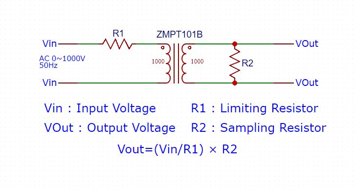 ZMPT101B-Schematic