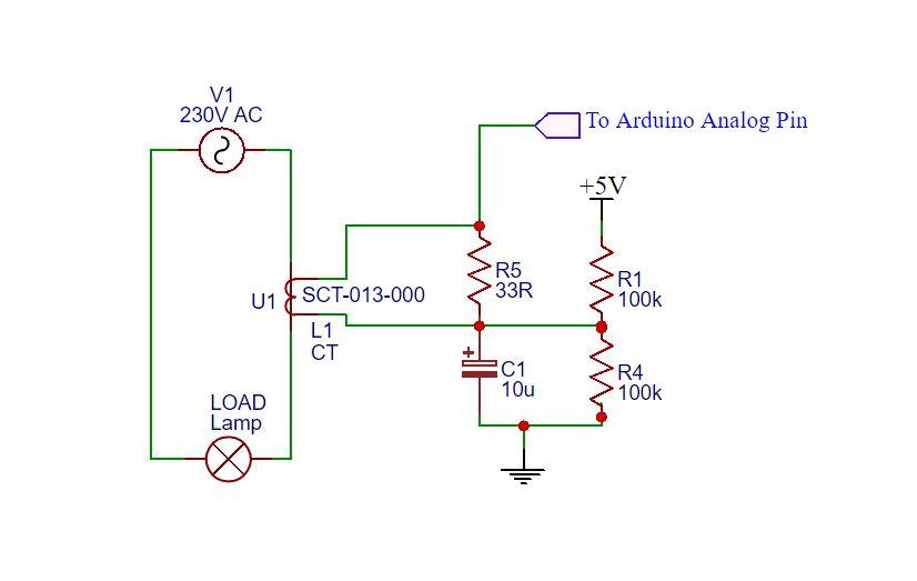 SCT-013-100-arduino-interfacing