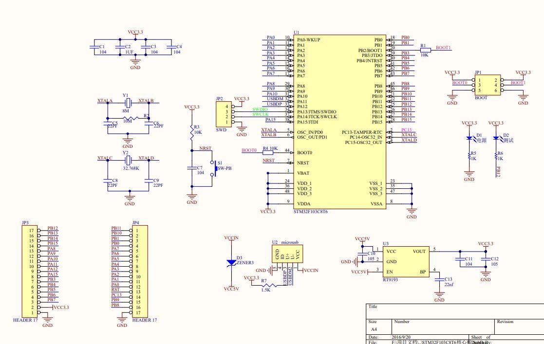 stm32 black pill schematic