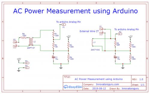 AC Power Measurement using Arduino