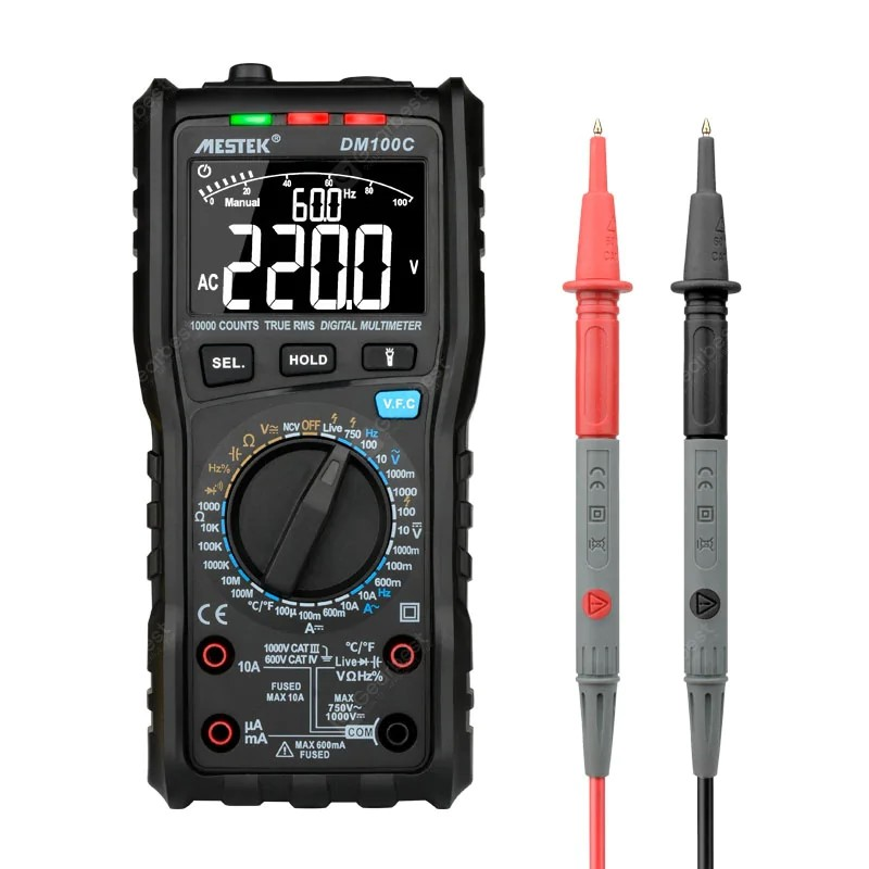 MESTEK DM100C Digital Multimeter