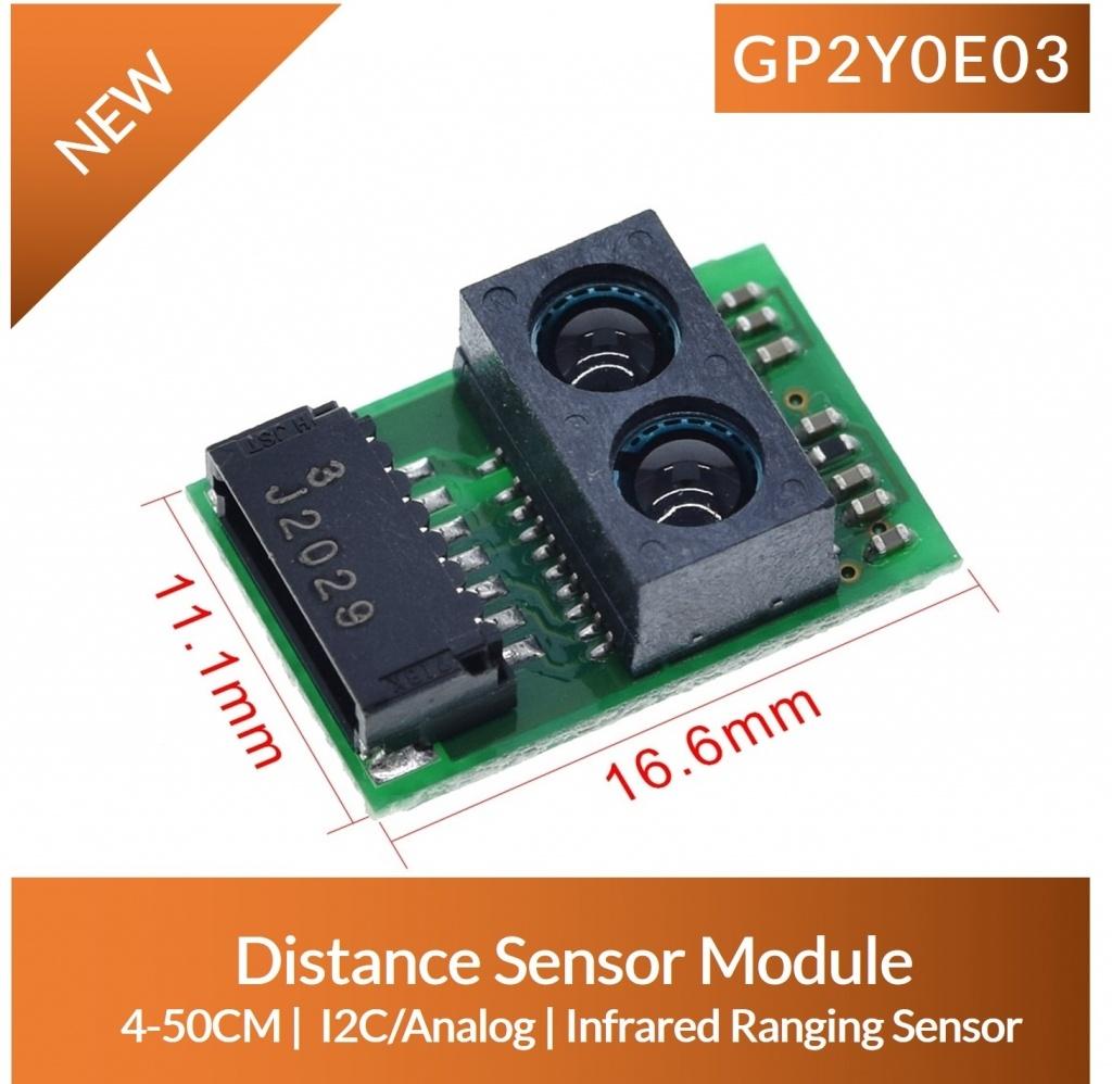 GP2Y0E03 dimension