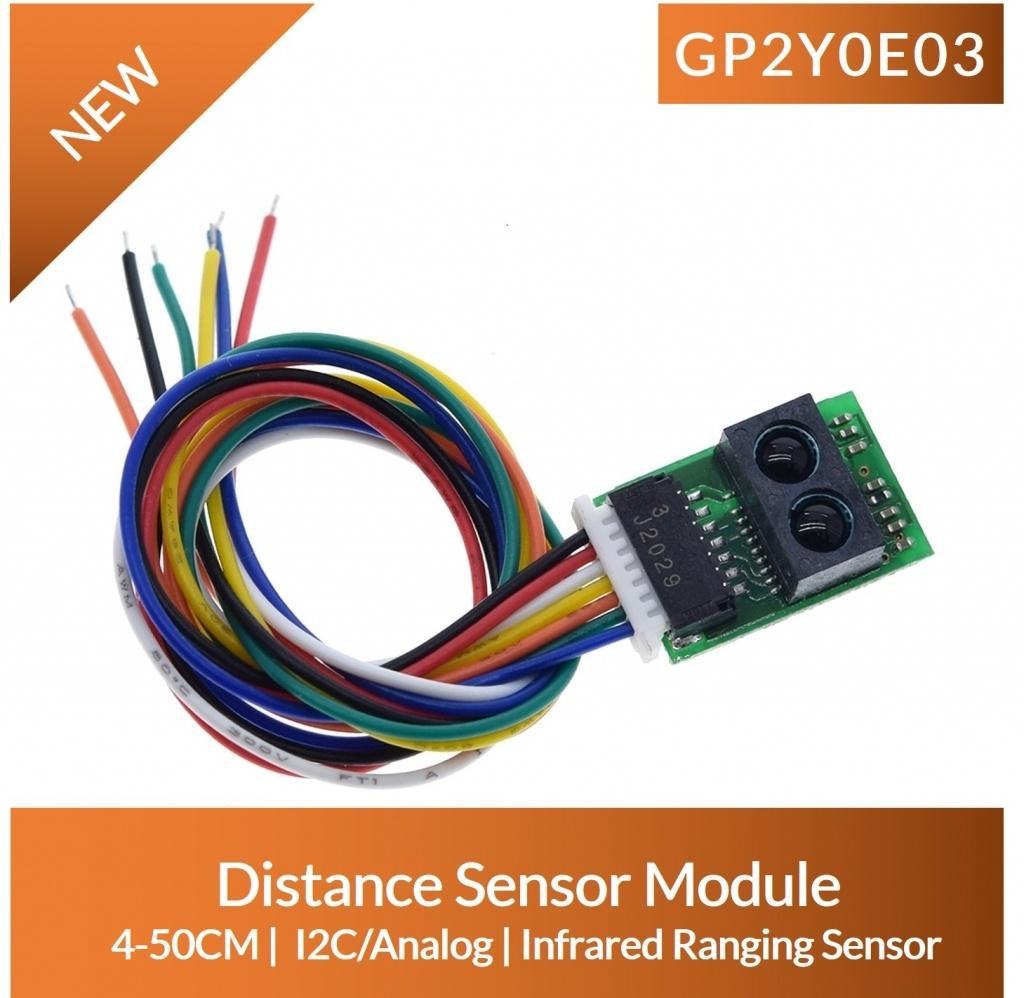 GP2Y0E03 Distance Sensor Module 4cm-50cm range price