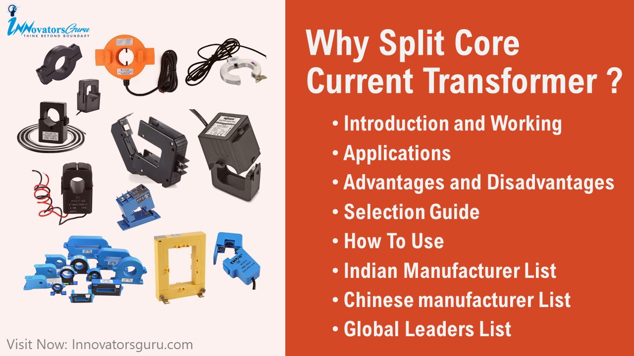 Learn everything about Split Core Current Transformer